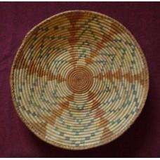 Navajo woven basket
