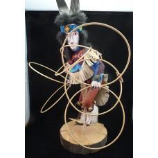 Navajo dancer figurine