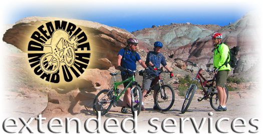Mountain Bike Vacation Extended Services
