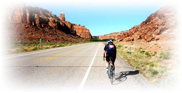 private guided Moab cycing vacations for solo riders
