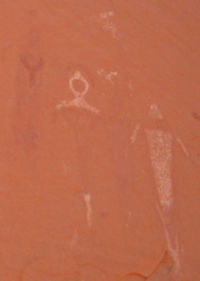 Moab Pictographs