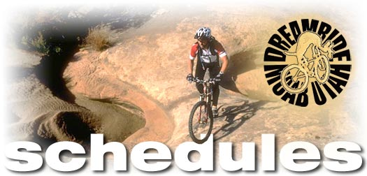 mountain bike tour vacation schedules