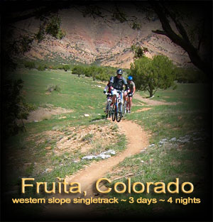 Fruita 3 day mountain bike vacation
