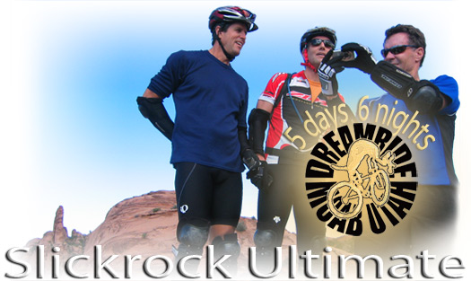 Moab slickrock mountain biking vacation